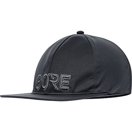 Gore Wear Men's Waterproof Cap, M GORE-TEX Team Cap, ONE, black, 100060 (Gore Panel)