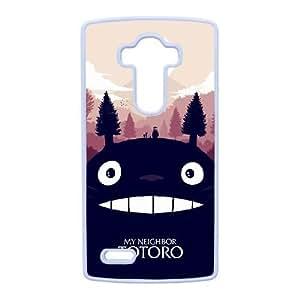 LG G4 Cell Phone Case White My Neighbor Totoro1 F6559649