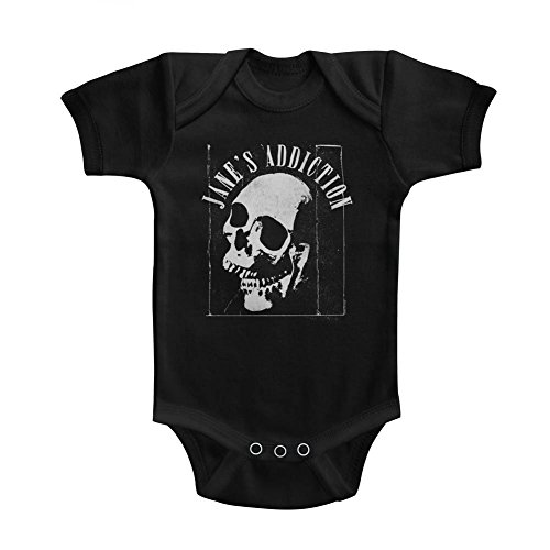 Janes Addiction Jaw Breaker Solid Infant Baby Romper Creeper Snapsuit