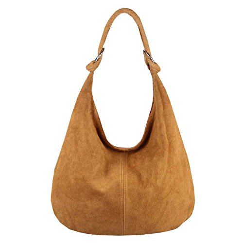OBC Only-Beautiful-Couture, Borsa a spalla donna Argento argento xl Cognac