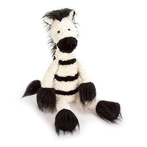 Plush Stuffed Zebra - Jellycat Dainty Zebra Stuffed Animal, 19 inches