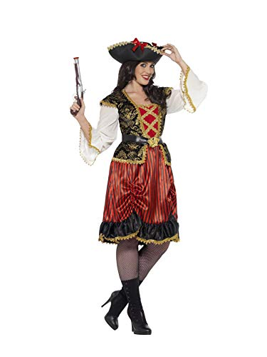 Smiffys Curves Pirate Lady Costume -