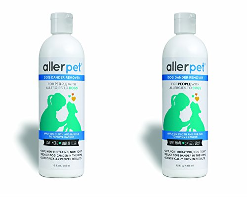 Allerpet Single Solution (Allerpet for Dogs, 12 oz (Pack of 2))