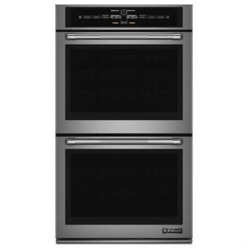 Jenn-Air 30″ 10 Cu. Ft Pro-Style Stainless Steel Double LCD Wall Oven JJW3830DP