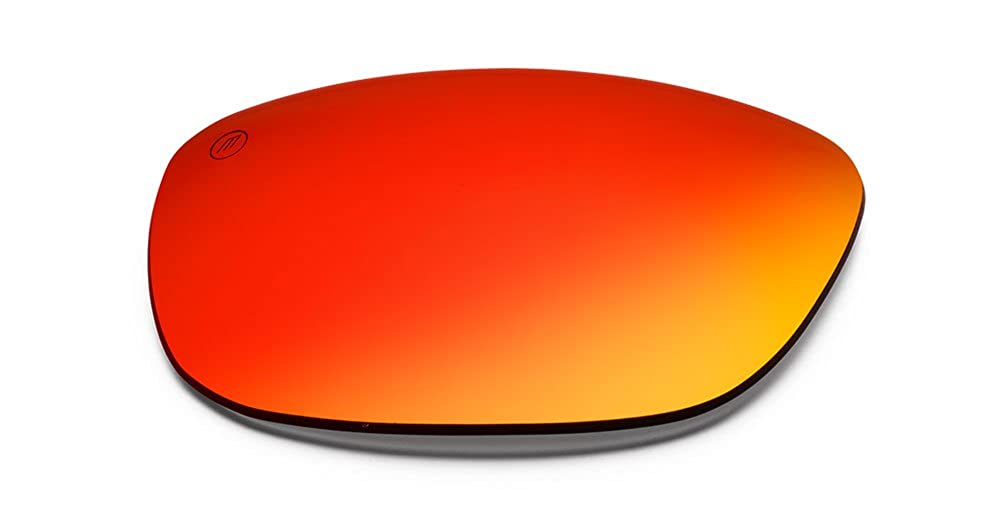 Electric Knoxville Replacement Lens Knoxville//Grey Fire Chrome OHM