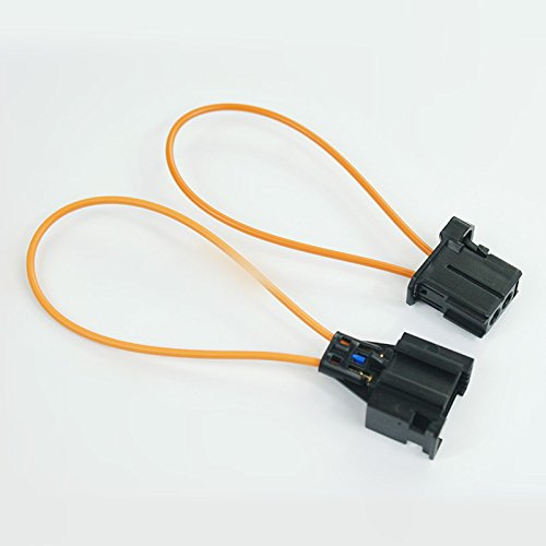 MOST Fiber Optic Loop Male & Female Connector for Audi / BMW / Mercedes etc. (Telephone Locomotive)