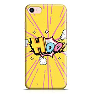 Loud Universe iPhone 7 Case Comic Hoo Clear Edge Durable Wrap Around iPhone 7 Cover
