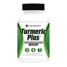 Turmeric Plus –Turmeric 95% Curcumin with Bioperine Black Pepper Extract. 1,000mg serving. Powerful Anti-Oxidant and Anti-Inflammatory Supports Entire Body Health and Wellness.