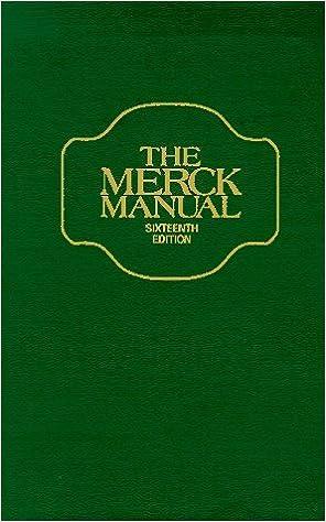 The merck manual 16th edition 9780911910827 amazon books fandeluxe Choice Image