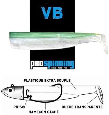 Black Minnow Fiiish Lures Cuerpos BM120 Verde Glitter Spain ...