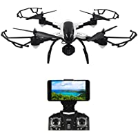 Dazhong Foldable Quadcopter Drone with WIFI Control Video 2.0MP HD Camera 2.4G 4CH 6-Axis Gyro