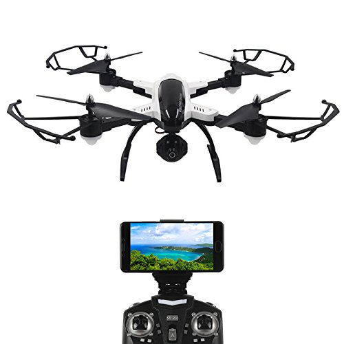 Foldable Quadcopter Drone with WIFI Control Aerial Video 2.0MP HD Camera