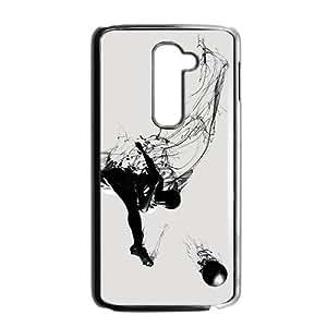 Creative Football Graffiti Custom Protective Hard Phone Cae For LG G2