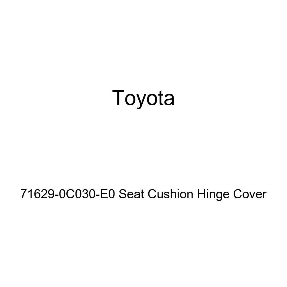 TOYOTA Genuine 71629-0C030-E0 Seat Cushion Hinge Cover
