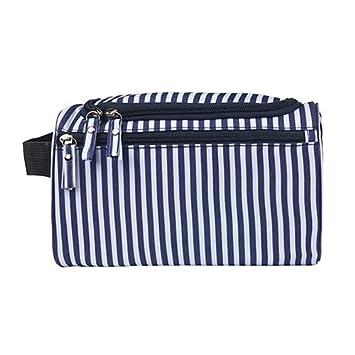 237791b7ddae Amazon.com : Saasiiyo Women's Men Zipper Bag Makeup Organizer Travel ...