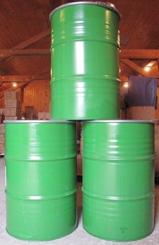 Fusti Ferro Usati.200 Litri Metallo Barile Metallo Bidone Brenn Tonne Acqua