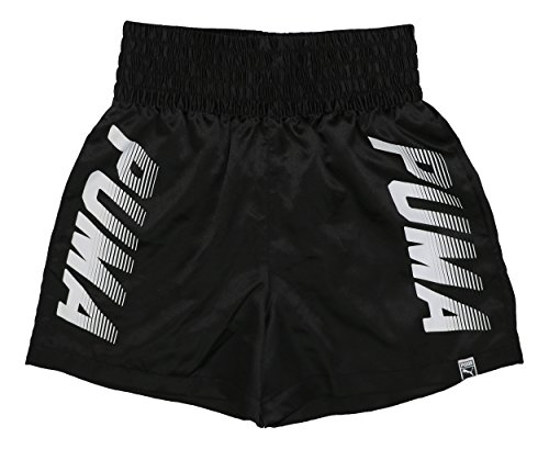 Puma Womens Wide Waistband Athletic Speed Shorts (Black, X-Small)