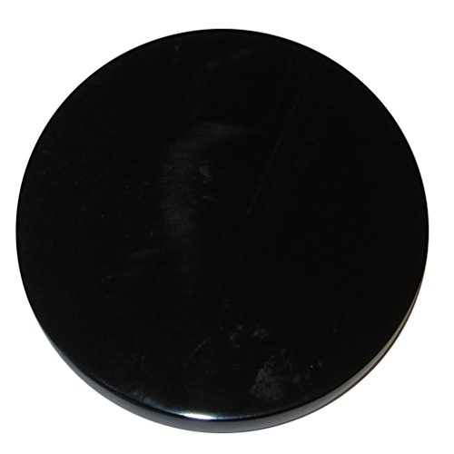 Satin Crystals Obsidian Black Polished Stone 7'' Premium XL Round Healing Energy Plate Visionary Mirror Volcanic Glass P02 by SatinCrystals