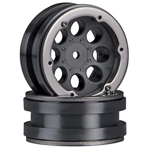 Rings Beadlock Axial (Axial AX8087 8-Hole 1.9 Beadlock Wheel, Black (2))