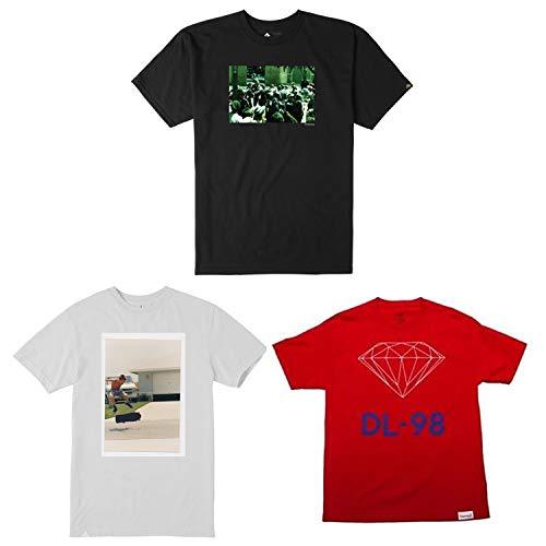 Tee Altamont (ALTAMONT Back to School Skateboard T Shirts 3-Pack Sale Large, Diamond)