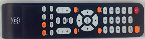 WESTINGHOUSE RMT-23 REMOTE CONTROL FOR DW32H1G1