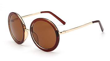 YYXXZZ Gafas de sol Gafas Redondas de bambú para Mujer ...