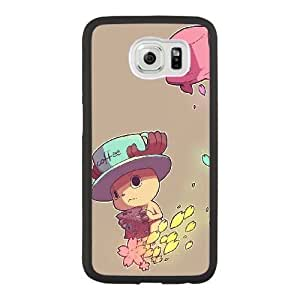 Grouden R Create and Design Phone Case,Tony Tony Chopper Cell Phone Case for Samsung Galaxy S6 Black + Tempered Glass Screen Protector (Free) GHL-2962639