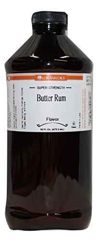 Butter Rum 16 Ounce, LorAnn Rum Flavor Oil