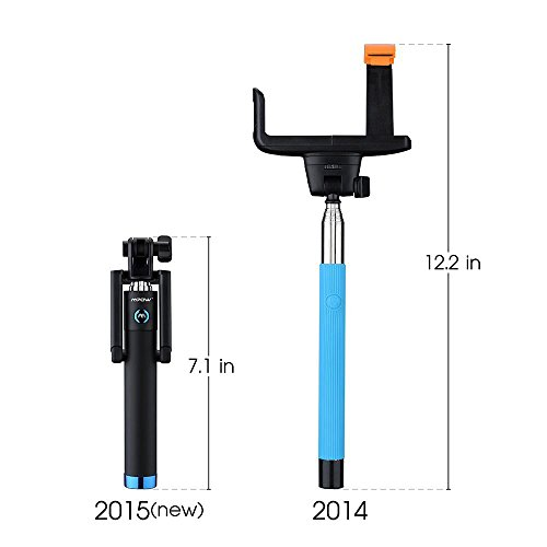 mpow bluetooth selfie stick isnap x extendable monopod with import it all. Black Bedroom Furniture Sets. Home Design Ideas
