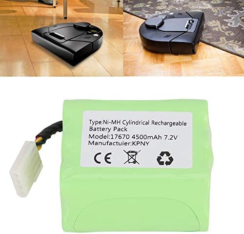 Jeffergarden Batterie Stable 7.2V 4000mah Stable Haute Capacité Compatible avec Neato Xv-11 Xv-12 Xv-14 Xv-15 Xv-21