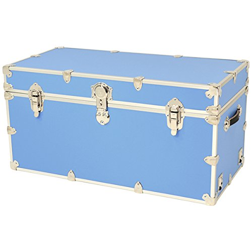 Rhino Sticker Camp & College Trunk with Wheels & Tray - XX-Large - 36