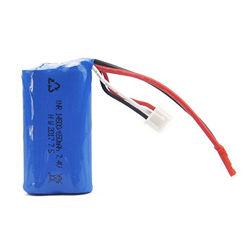 HBX RC Car Rechargeable Li-ion Battery 7.4V 650mAh Apply for 18859E