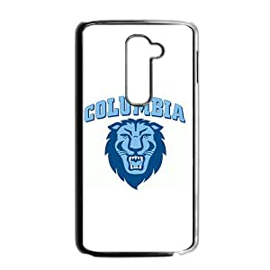 NCAA Columbia Lions Black Phone Case for LG G2