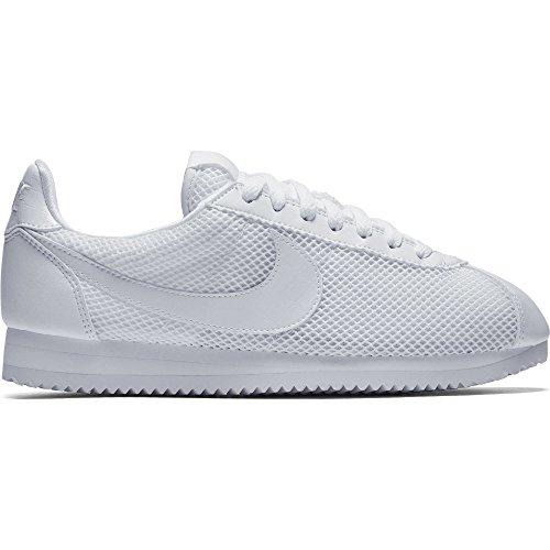 Nike Wmns Classic Cortez Prem Donna 905614-101 Bianco / Bianco