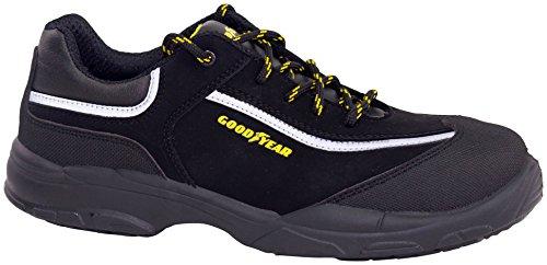 Goodyear G1388601C - Calzado en piel nobuk, color gris