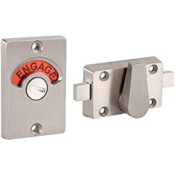 Amazon Com Schlage B571 One Sided Deadbolt With In Use