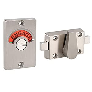 Latch Indicating Lock Stainless Steel Bolt Door Lock