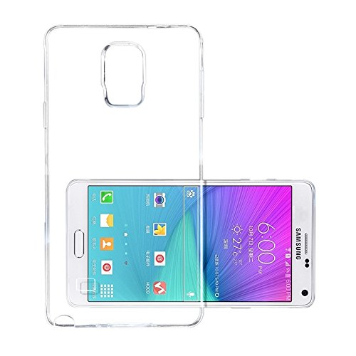 more photos a0dc1 cb998 Samsung Galaxy Note4 Case, iCoverCase Ultra-thin Silicon Back Cover Clear  Plain Lightweight Protective Soft TPU Rubber Skin Case for Samsung Galaxy  ...