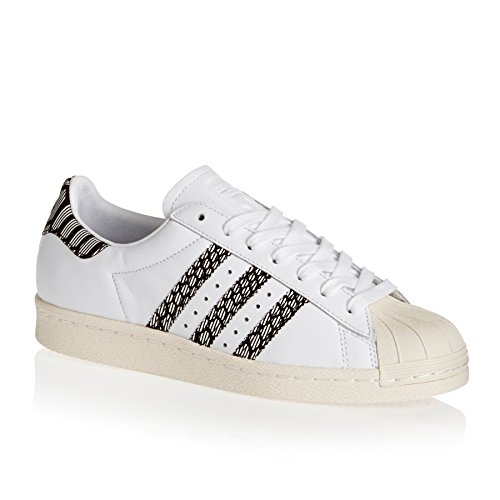 Adidas Sneaker Donna Superstar W By9074 Bianco, Misura Della Scarpa: 40 2/3