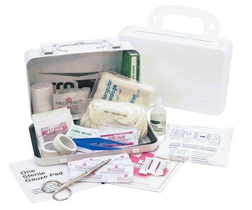Medique 733P10P 10 personne Aid Kit plastique Première