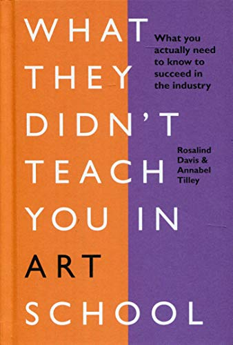 What They Didn't Teach You in Art School: What you need to know to survive as an artist (What They Didn't Teach You In School) por Rosalind Davis,Annabel Tilley