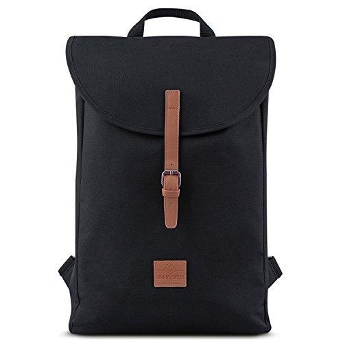 Backpack Men & Women Black / Brown - JOHNNY URBAN