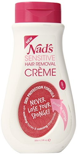 Nad's Sensitive Hair Removal Creme, 10 Ounce by NAD'S