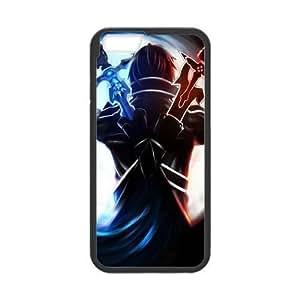 At-Baby Japanese Anime Design Custom Sword Art Online SAO Protecoer Phone Case Phonecase Cover For iPhone 6 4.7 (Laser Technology) TT3