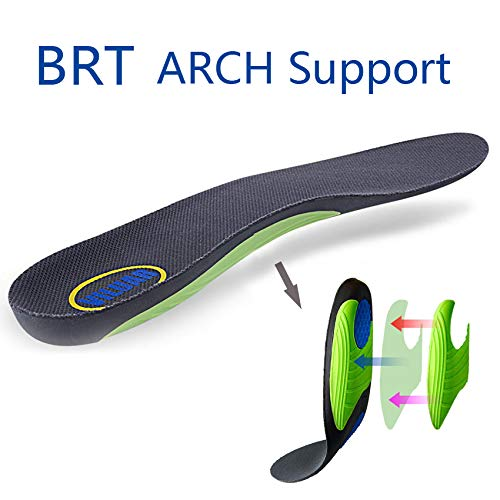 Viluar Shoes Insoles -Proven Design High Arch Support Orthotic Shoe Inserts Plantar Fasciitis Inserts Super Support Shoe Inserts Men Women (Women Size 6-11)