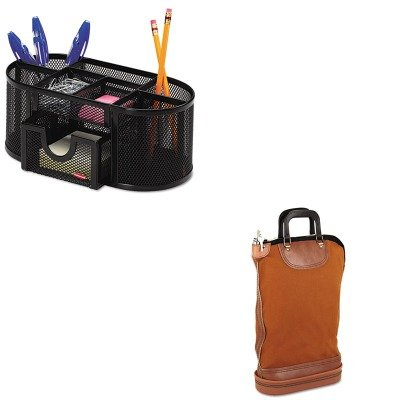 KITPMC04644ROL1746466 - Value Kit - Pm Company Regulation Post Office Security Mail Bag (PMC04644) and Rolodex Mesh Pencil Cup Organizer (ROL1746466) ()
