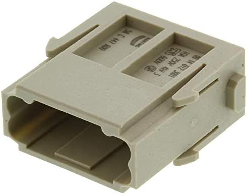 09140123001 Less Contacts Han-Modular DD Series Plug Module Heavy Duty Connector Pack of 5 Pin Module 12 Contacts -9140123001