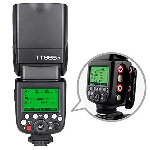 Godox TT685F TTL Flash Camera Flash Speedlite, 2.4G HSS 1/8000s TTL GN60 Electronic Flash