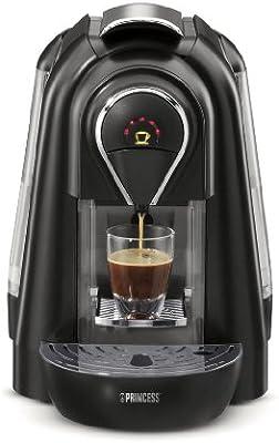 Princess - Cafetera Espresso 242224, Monodosis, 1 Taza, 1.1L, 19 ...