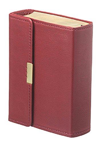 バイブルキューブ 赤(革装・マグネット留)―聖書新共同訳